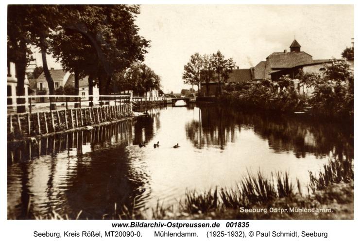 Seeburg, Mühlendamm