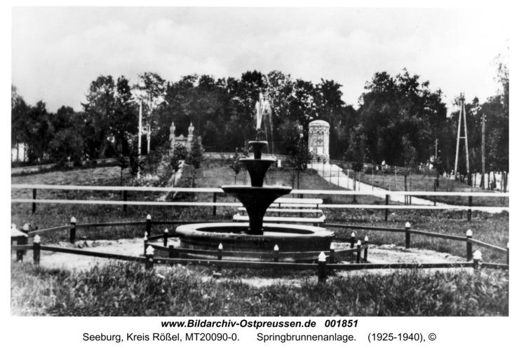 Seeburg, Springbrunnenanlage