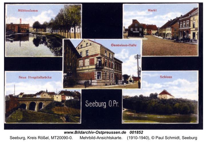 Seeburg, Mehrbild-Ansichtskarte