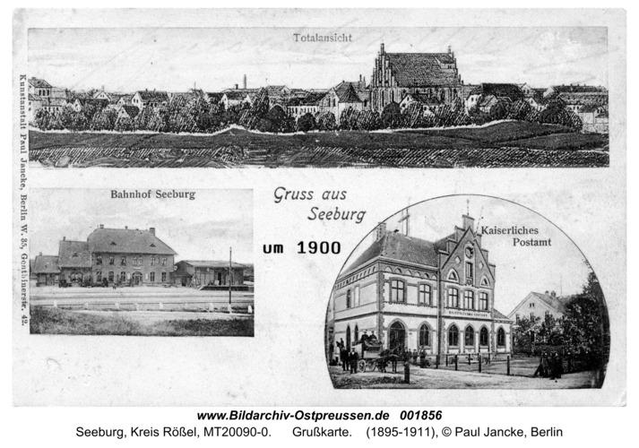 Seeburg, Grußkarte