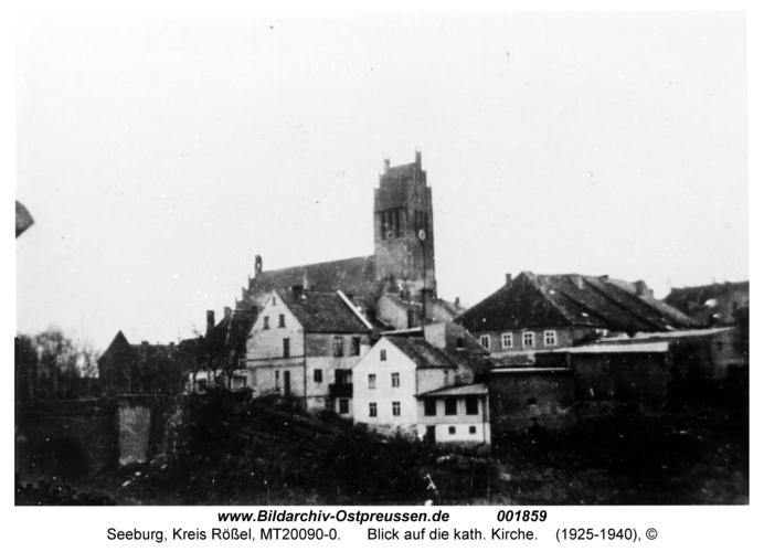 Seeburg, Blick auf die kath. Kirche