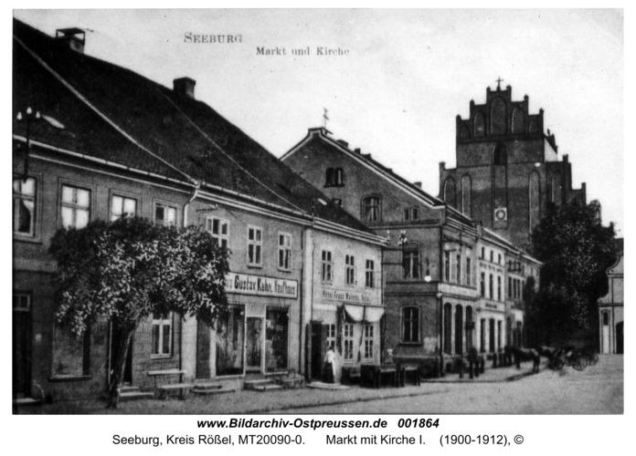 Seeburg, Markt mit Kirche I