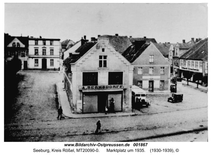 Seeburg, Marktplatz um 1935