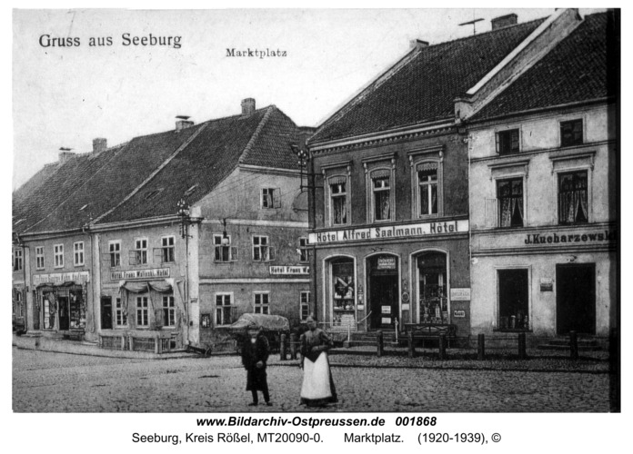 Seeburg, Marktplatz