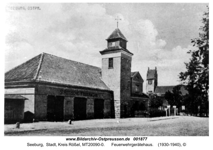 Seeburg, Feuerwehrgerätehaus