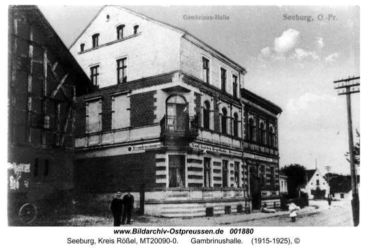 Seeburg, Gambrinushalle