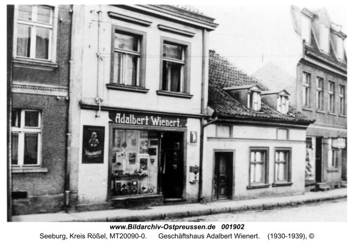 Seeburg, Geschäftshaus Adalbert Wienert