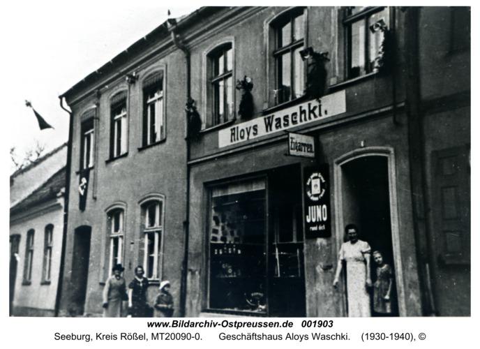 Seeburg, Geschäftshaus Aloys Waschki