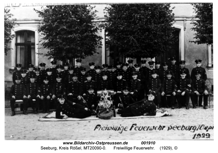 Seeburg, Freiwillige Feuerwehr