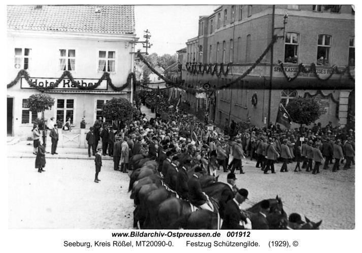 Seeburg, Festzug Schützengilde