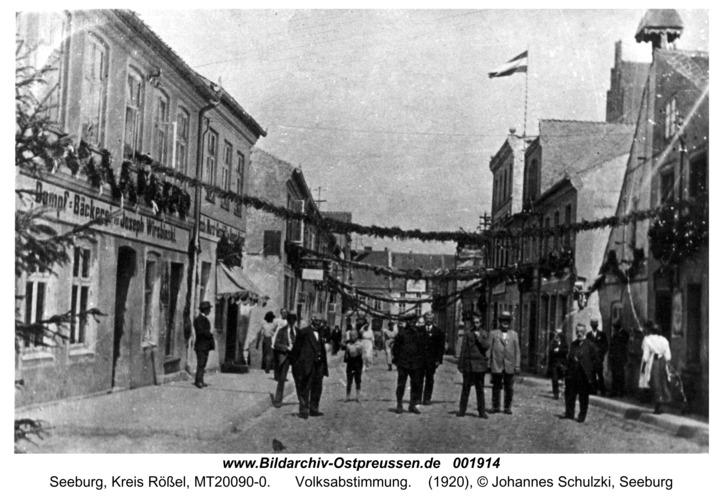 Seeburg, Volksabstimmung