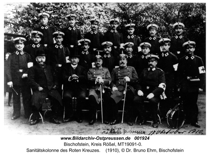 Bischofstein, Sanitätskolonne des Roten Kreuzes
