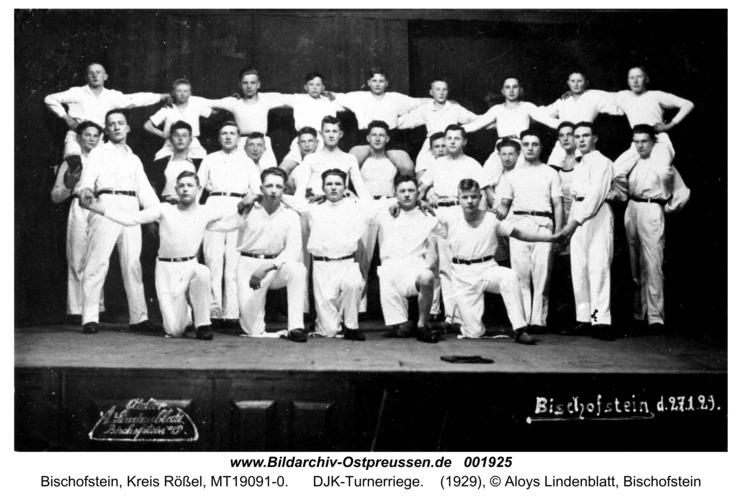 Bischofstein, DJK-Turnerriege