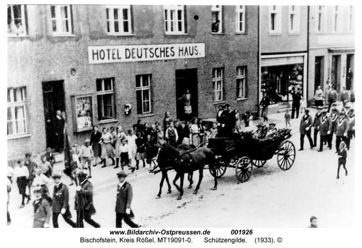 Bischofstein, Schützengilde