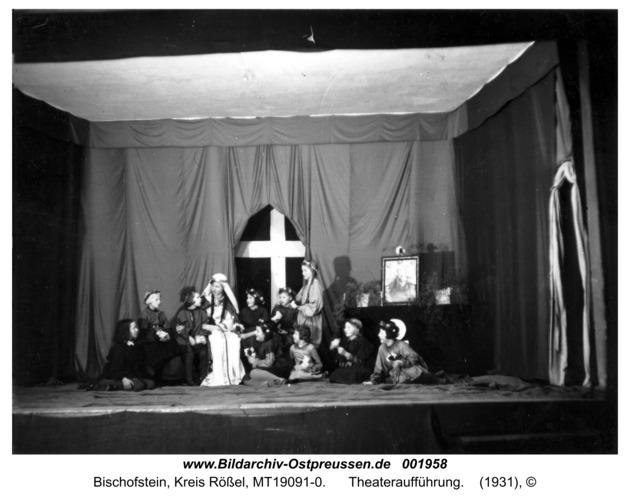 Bischofstein, Theateraufführung