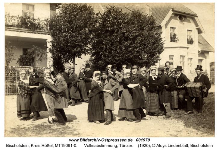 Bischofstein, Volksabstimmung, Tänzer