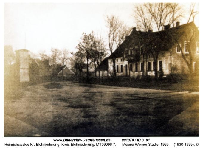 Heinrichswalde, Meierei Werner Stadie, 1935