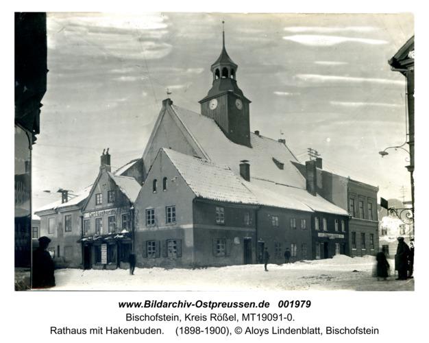Bischofstein, Rathaus mit Hakenbuden