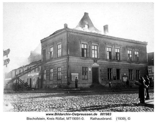Bischofstein, Rathausbrand