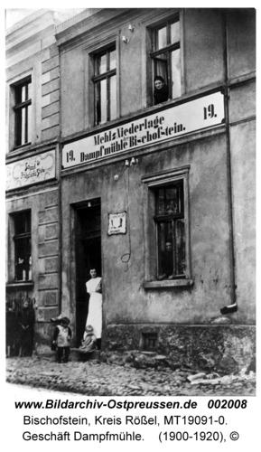 Bischofstein, Geschäft Dampfmühle