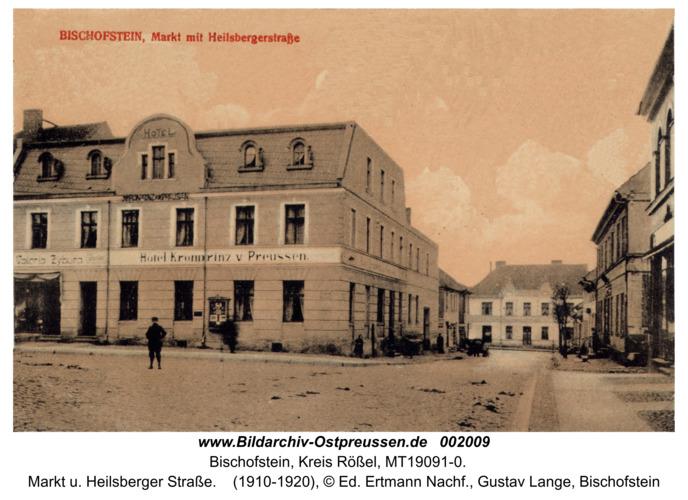 Bischofstein, Markt u. Heilsberger Straße