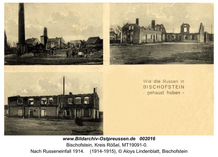 Bischofstein, Nach Russeneinfall 1914