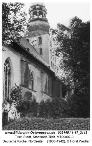 Tilsit, Deutsche Kirche, Nordseite