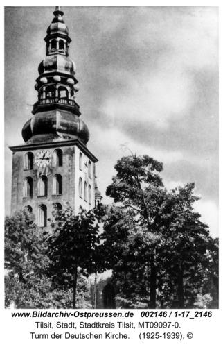 Tilsit, Turm der Deutschen Kirche