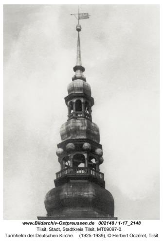 Tilsit, Turmhelm der Deutschen Kirche