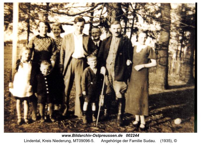 Lindental, Angehörige der Familie Sudau