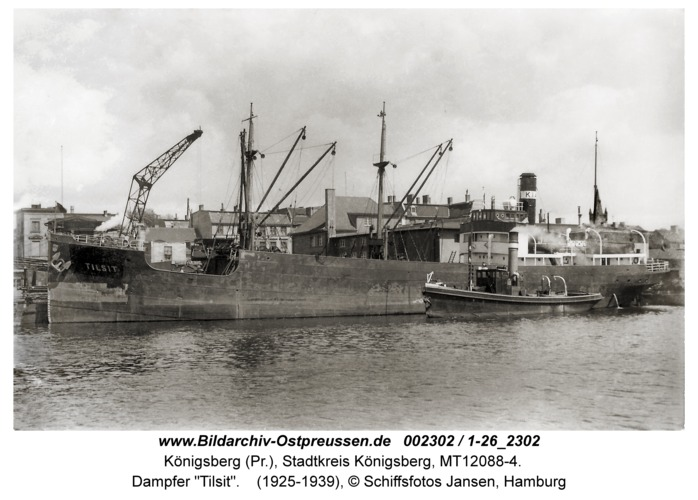 "Königsberg, Dampfer ""Tilsit"""