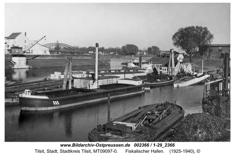 Tilsit, Fiskalischer Hafen