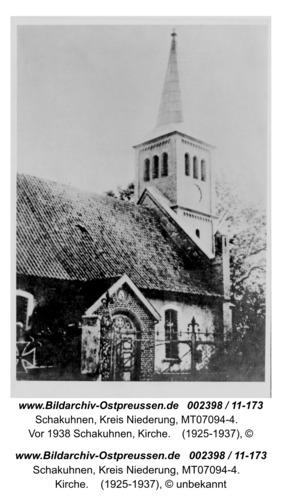 Schakendorf, vor 1938 Schakuhnen, Kirche