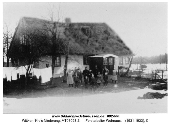 Wittken, Forstarbeiter-Wohnaus