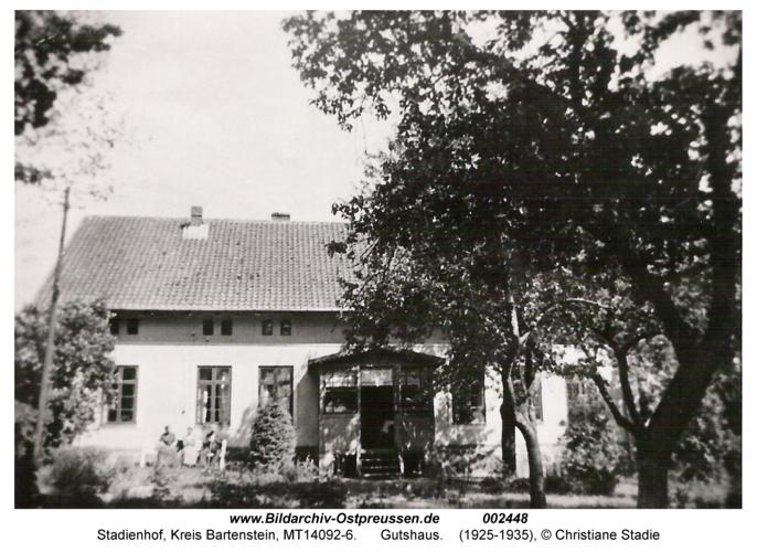 Stadienhof, Gutshaus