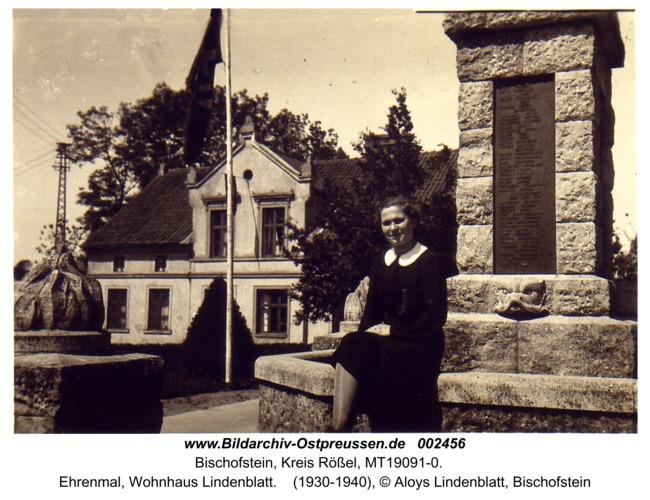 Bischofstein, Ehrenmal, Wohnhaus Lindenblatt