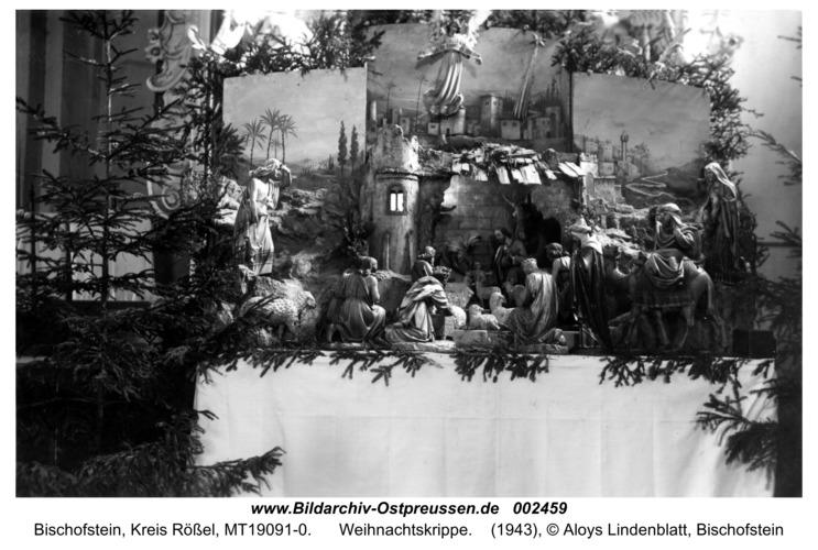 Bischofstein, Weihnachtskrippe