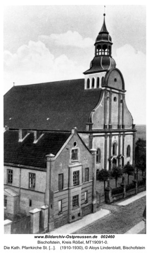 Bischofstein, Die Kath. Pfarrkirche St. Matthias