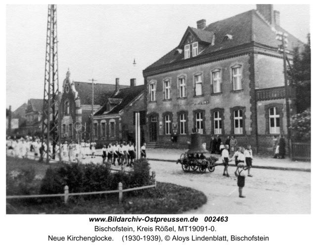 Bischofstein, Neue Kirchenglocke