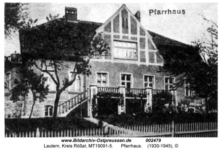 Lautern, Pfarrhaus