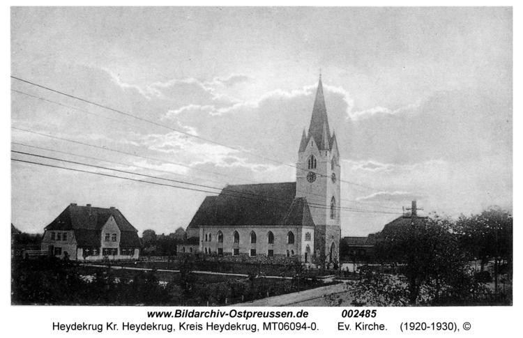 Heydekrug, Ev. Kirche