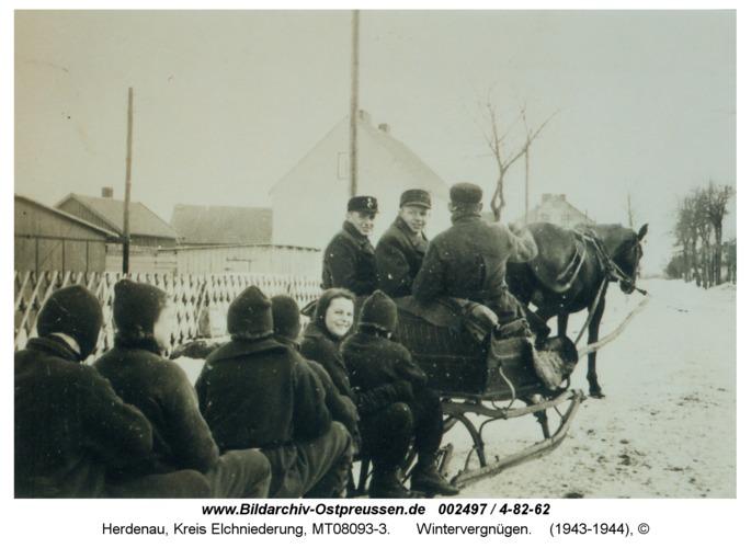 Herdenau, Wintervergnügen