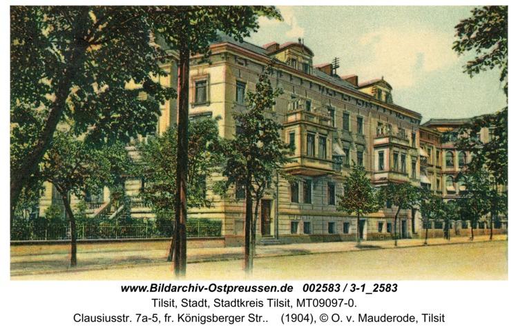 Tilsit, Clausiusstr. 7a-5, fr. Königsberger Str.