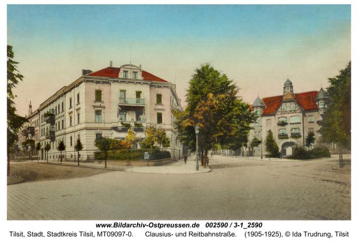 Tilsit, Clausius- und Reitbahnstraße