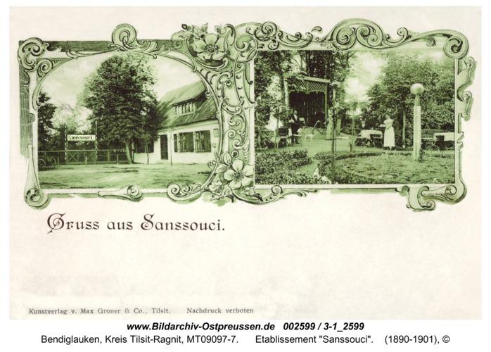 """Bendigsfelde, Etablissement """"Sanssouci"""""""