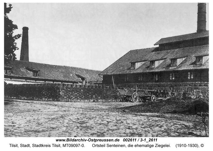 Tilsit, Ortsteil Senteinen, die ehemalige Ziegelei