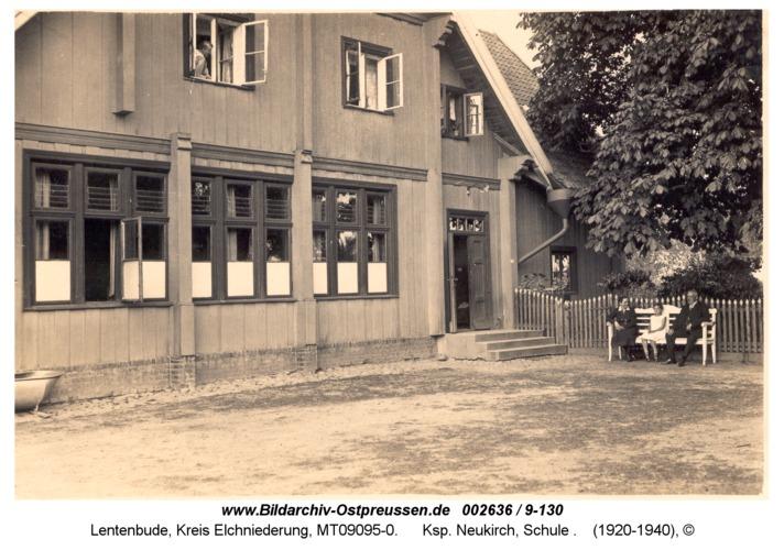Lentenbude, Ksp. Neukirch, Schule