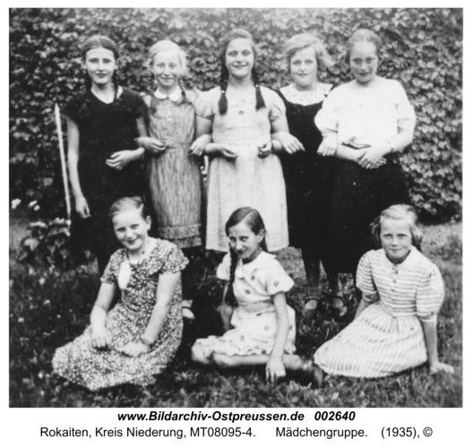 Rokaiten, Mädchengruppe