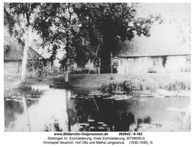 Stobingen, Kirchspiel Neukirch, Hof Otto und Metha Lengwenus