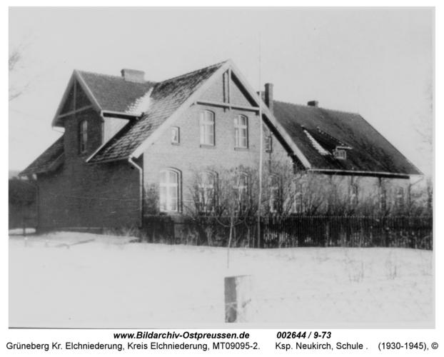 Grüneberg, Ksp. Neukirch, Schule